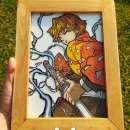 Cuadros pintura sobre vidrio - 1