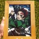 Cuadros pintura sobre vidrio - 2