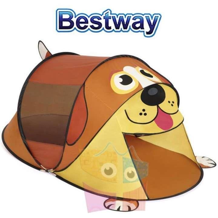 Carpa de camping infantil Cachorro 1,82 x 0,96 x 0,81 mts Bestway - 0