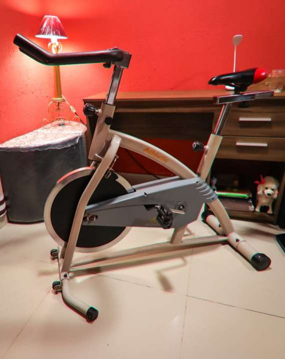 Bicicleta Spinning Athletic Advanced 650BS - 0