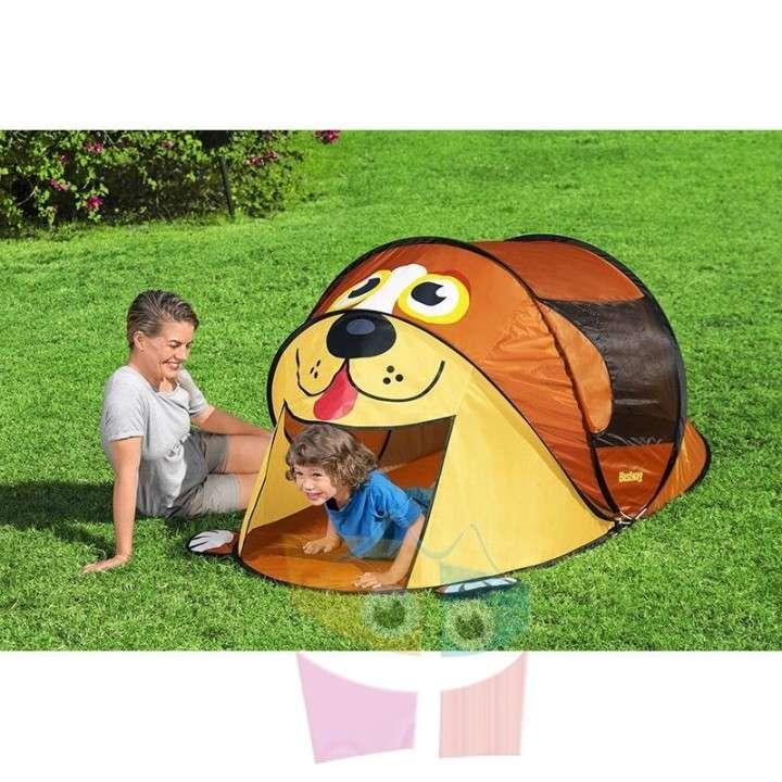 Carpa de camping infantil Cachorro 1,82 x 0,96 x 0,81 mts Bestway - 1
