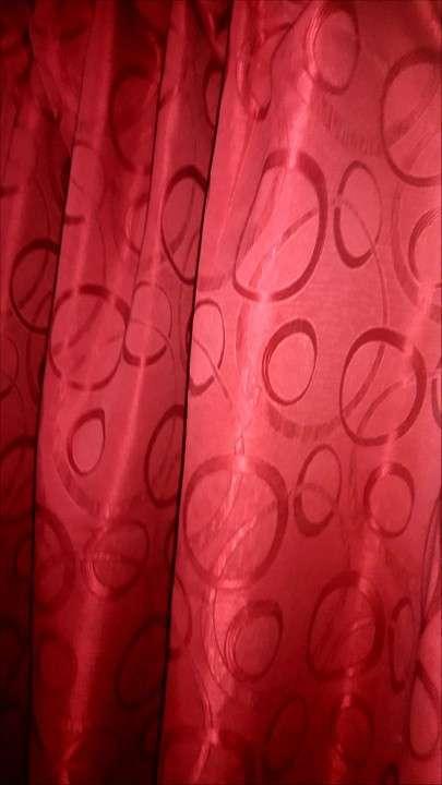 Soporte de hierro + cortina para probador de boutique - 0