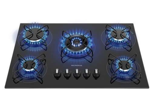 Cooktop a gas 5H triple llamas CTG-03 - 0