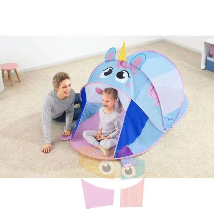 Carpa de camping infantil Unicornio 1,82 x 0,96 x 0,81 mts Bestway - 2