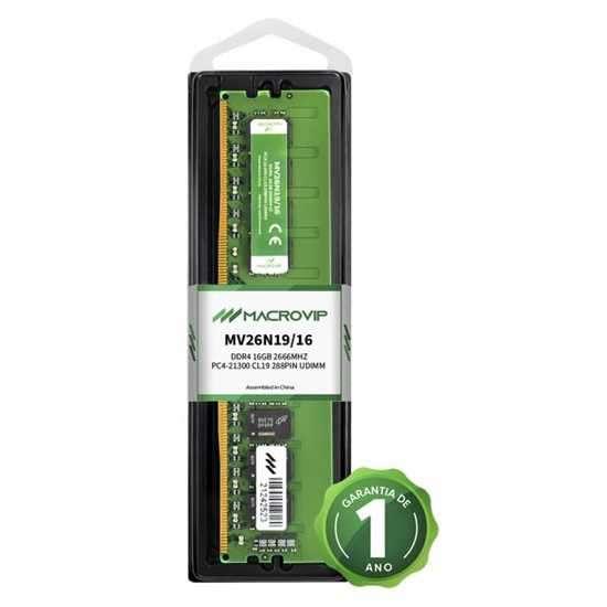 Memória Macrovip DDR4 16GB 2666MHz - 0
