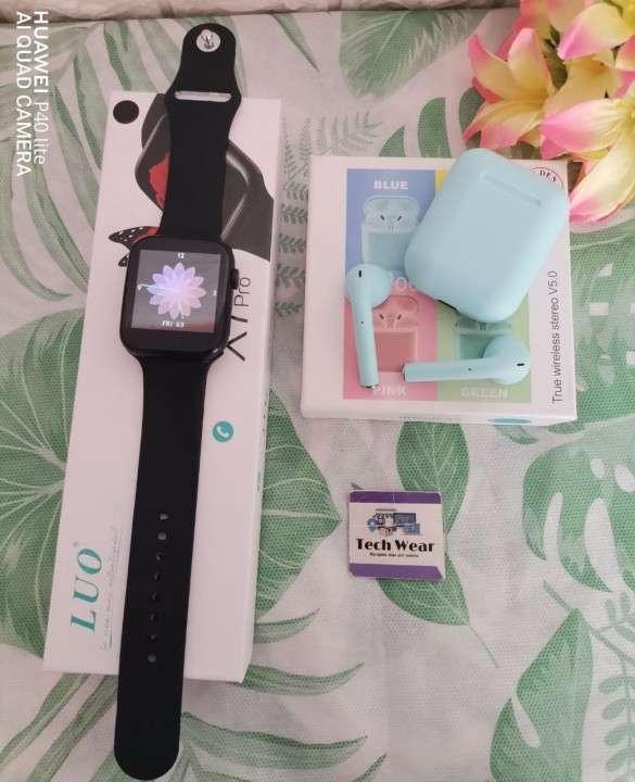 Smartwatch LUO X7 Pro con auricular i12 de regalo - 1