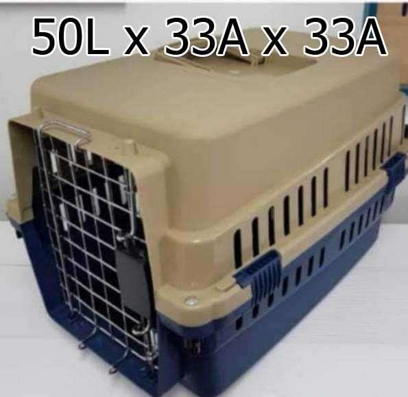 Jaulas transportadoras con puerta de metal - 1