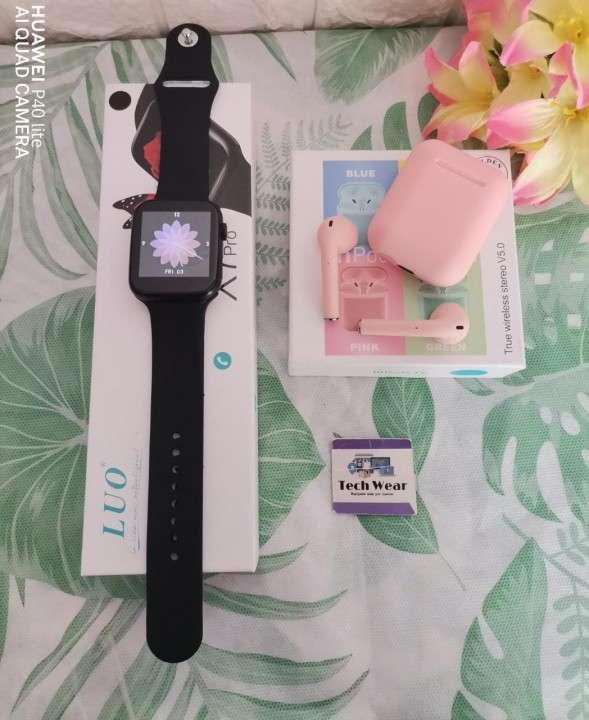 Smartwatch LUO X7 Pro con auricular i12 de regalo - 0