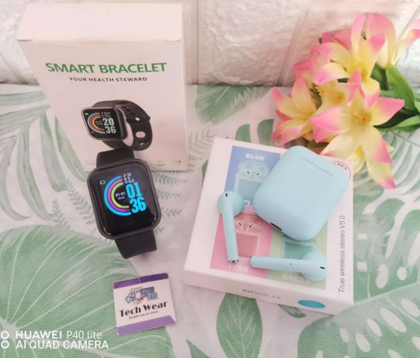 Smartwatch D20 con auricular i12 bluetooth de regalo - 5