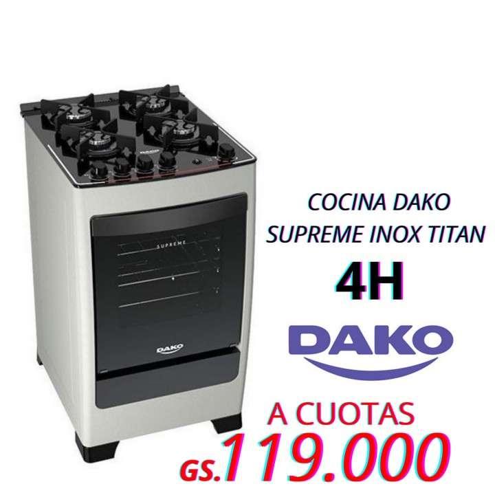 Cocina Dako Supreme Glass 4 Titan - 0