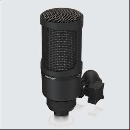 Micrófono condensador Behringer bx 2020 - 0