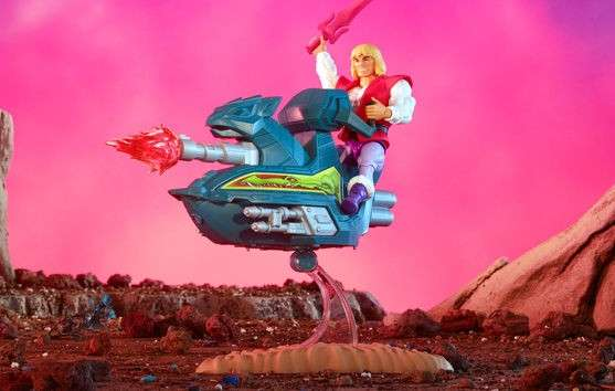 Masters Of The Universe: Origins Prince Adam and Sky Sled - 2