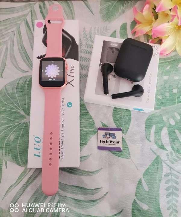 Smartwatch LUO X7 Pro con auricular i12 de regalo - 3