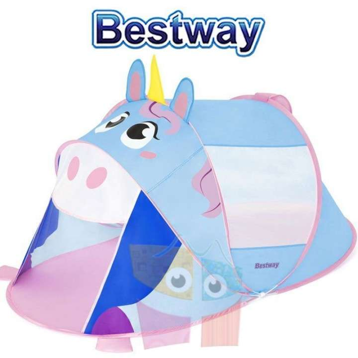 Carpa de camping infantil Unicornio 1,82 x 0,96 x 0,81 mts Bestway - 0