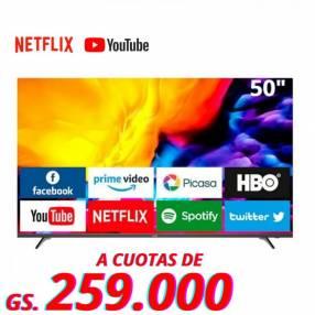 Smart TV Win de 50 pulgadas 4K ️