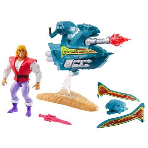 Masters Of The Universe: Origins Prince Adam and Sky Sled - 1