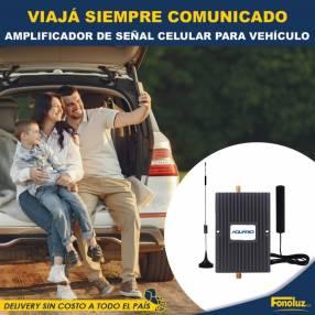 Amplificador de señal celular para vehículo