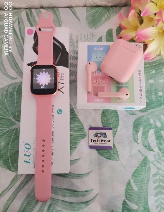 Smartwatch LUO X7 Pro con auricular i12 de regalo - 2