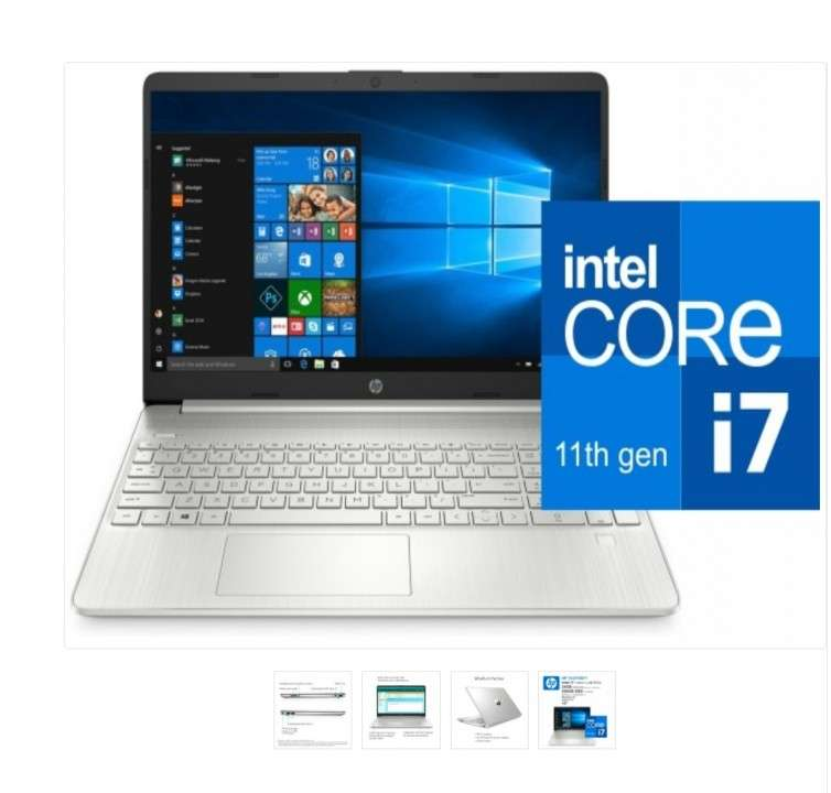Notebook HP 15-DY2071WM/I7-1165G7 - 0