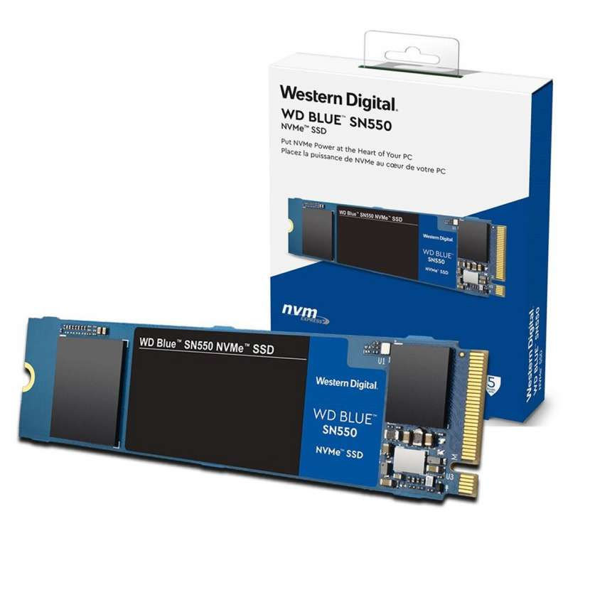 HD SSD M.2 NVME 250gb Western Digital SN550 Blue - 0