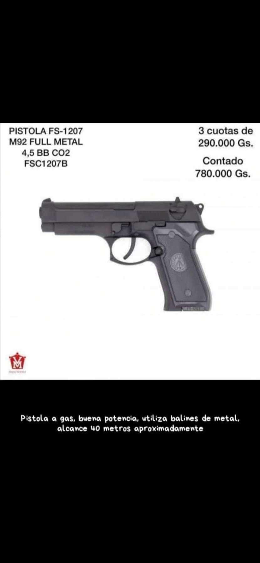 Pistola full metal - 0