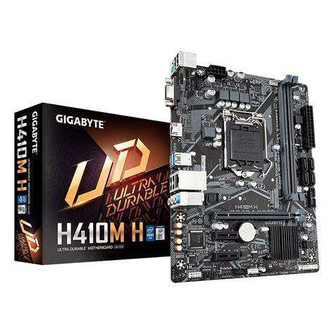 Placa gigabyte lga1200 h410m h - 0