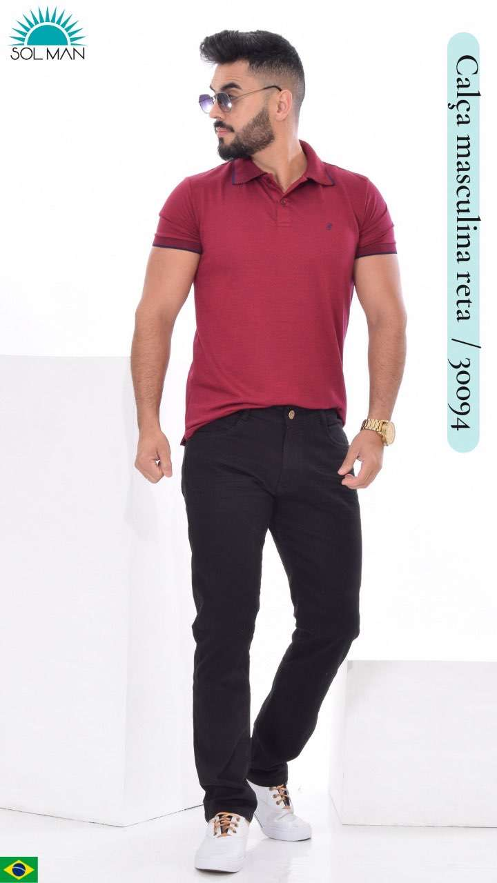 Jeans brasilero semi elastizado SOL30094 - 0