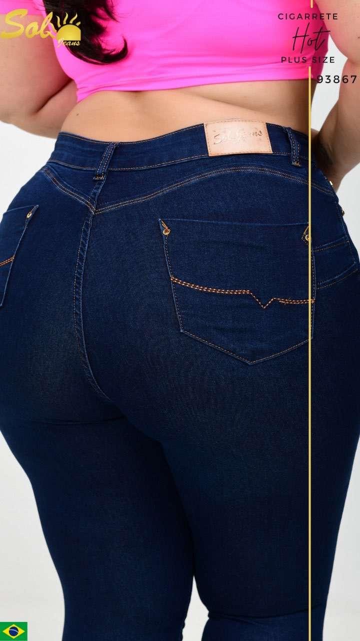 Jeans brasilero talle plus SOL93867 - 1