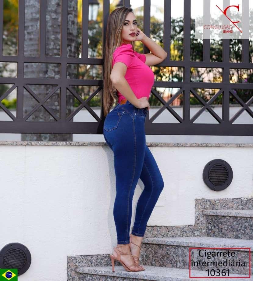 Jeans brasilero elastizado para dama CONCLUSAO10361 - 1