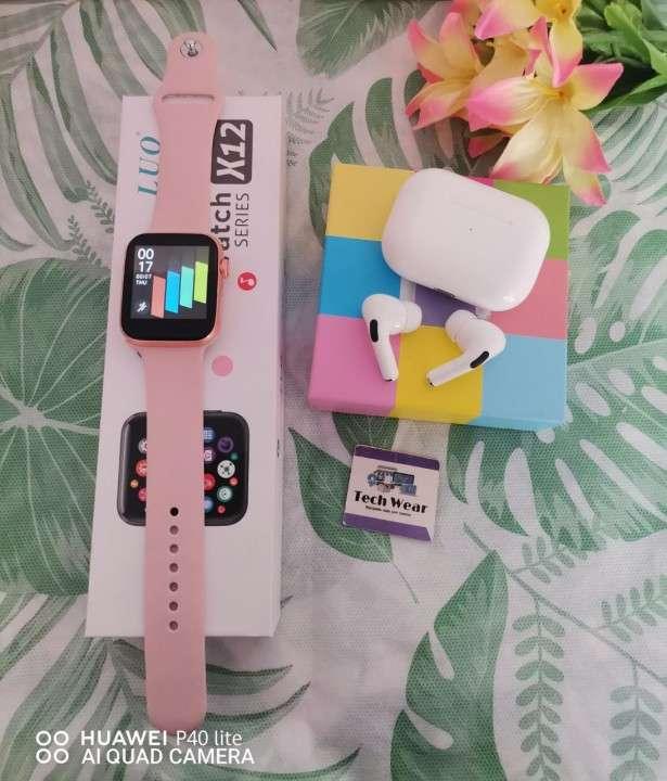 Smartwatch Luo X12 y auricular i12 Pro de regalo - 3