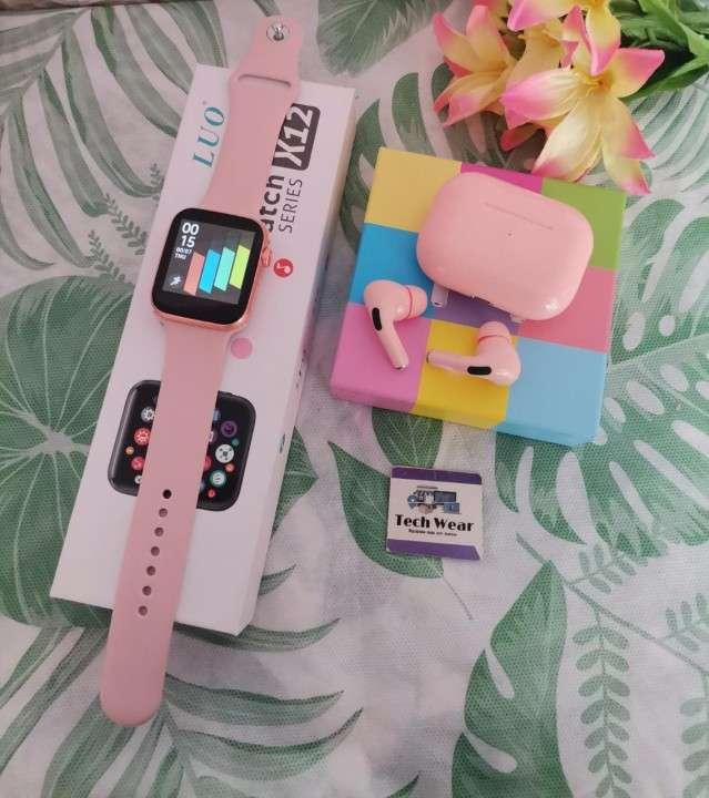 Smartwatch Luo X12 y auricular i12 Pro de regalo - 0