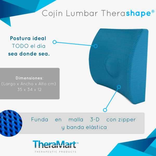Almohada cervical Therashape - 0