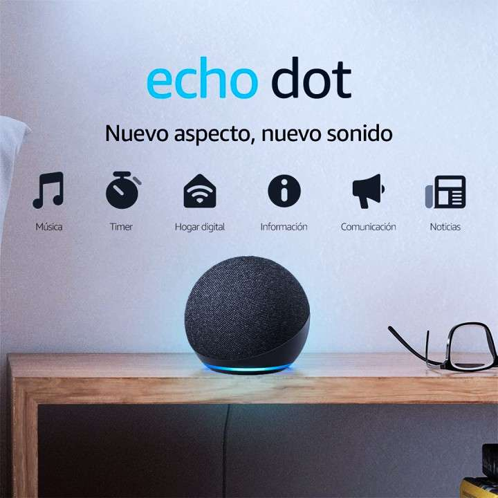 Amazon echo dot 4ta generación Alexa BT - 0