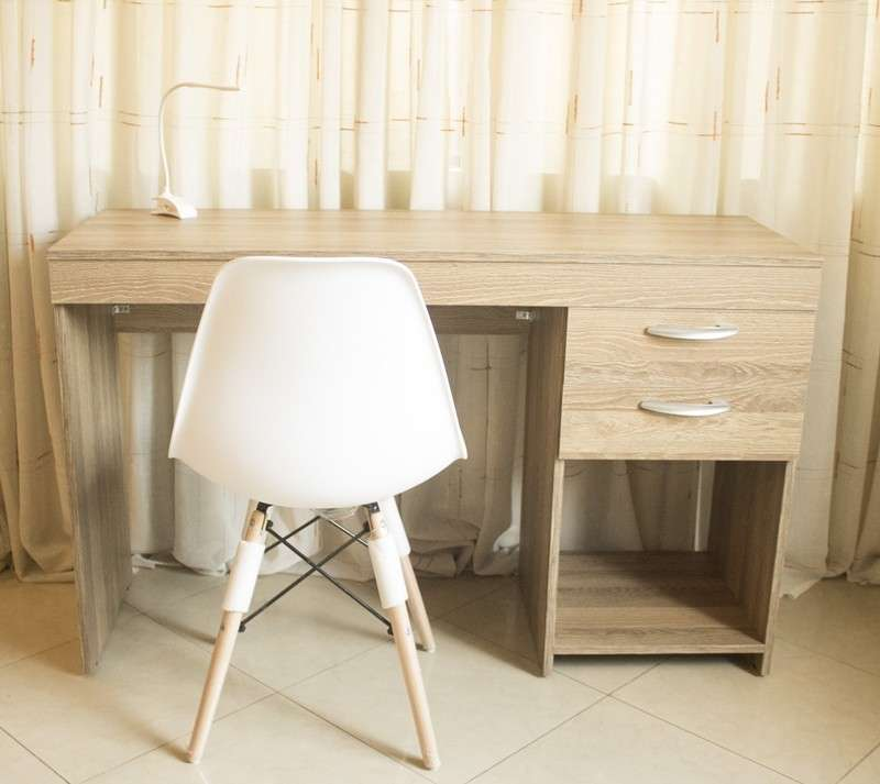 Escritorio Office Panambi blanco 120 cm (2623) - 1