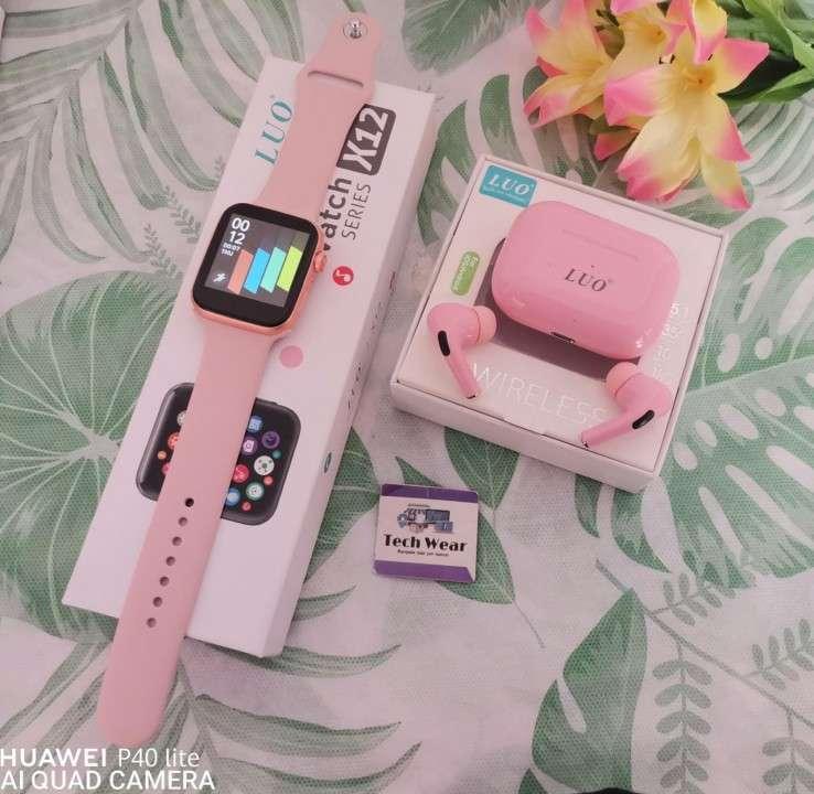 Smartwatch Luo X12 con auricular bluetooth de regalo - 1