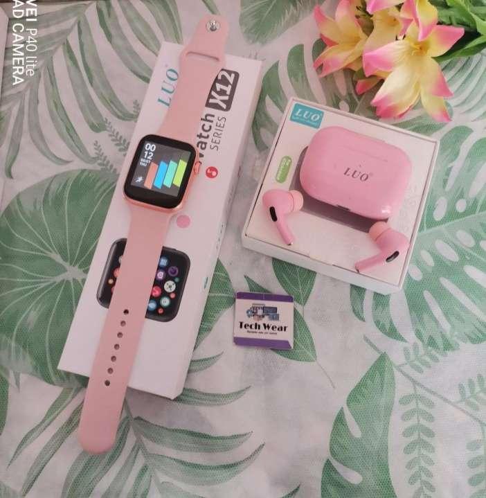Smartwatch Luo X12 con auricular bluetooth de regalo - 0