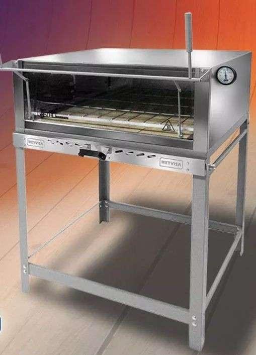 Horno pizzero a gas Metvisa FLGG90 / FLG901 920mm - 0