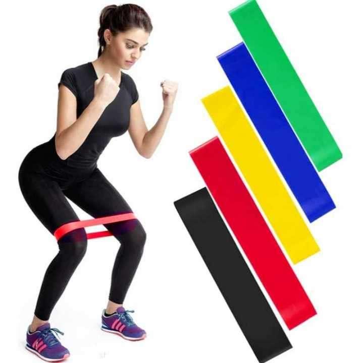 Bandas elásticas circulares para ejercicio - 0