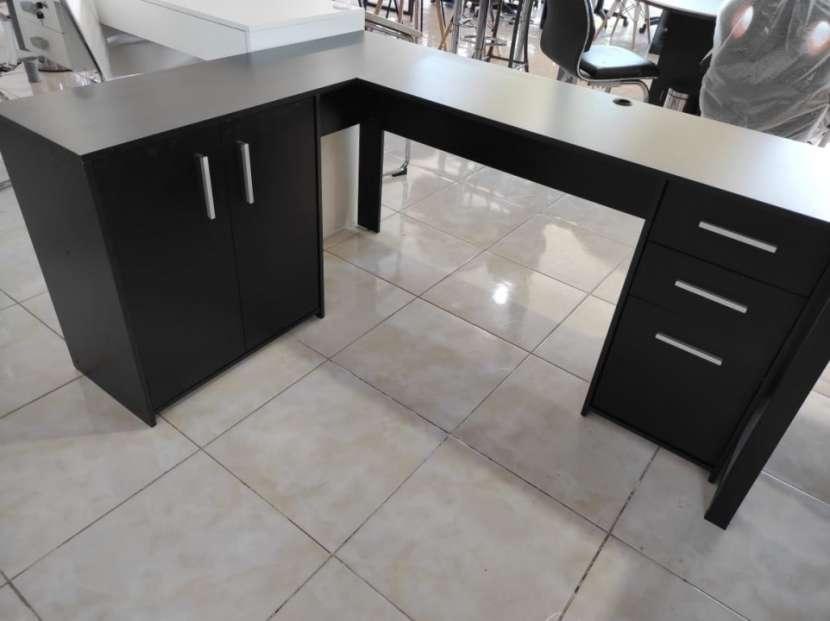 Escritorio angular Office Canto NT2005 Notavel negro Abba - 1