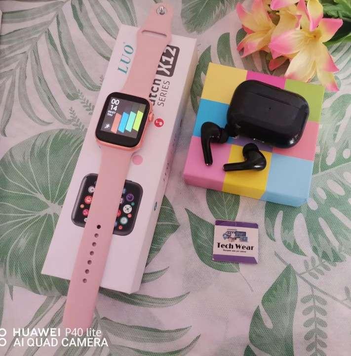 Smartwatch Luo X12 y auricular i12 Pro de regalo - 2