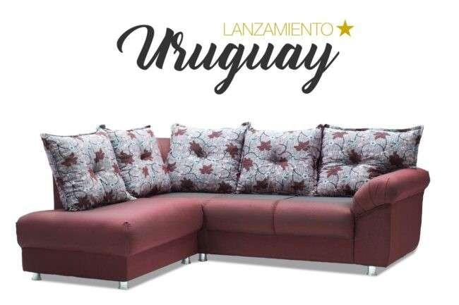 Sofá esquinero Uruguay Abba (2341) - 1