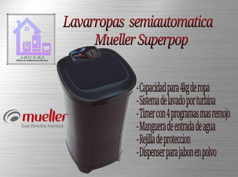 Lavarropas Mueller SuperPop 4 Kg - 0
