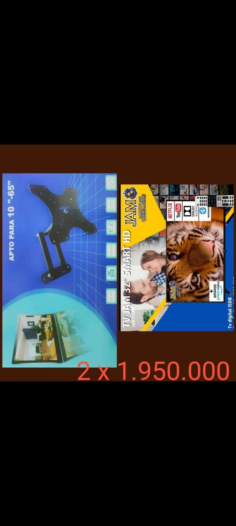 Smart TV de 32 pulgadas + soporte giratorio - 0
