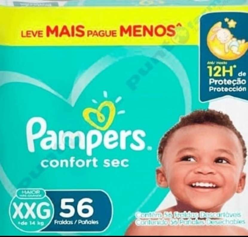 Pañal Pampers XXG - 0