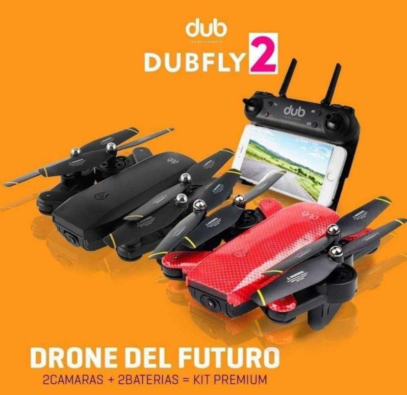 Drone con doble cámara - 0