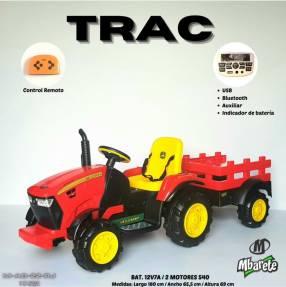 Tractor a batería Trac
