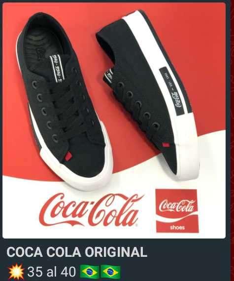Championes originales de Coca Cola - 1