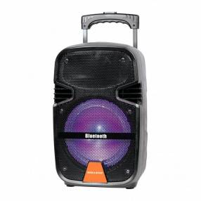 Parlante karaoke a batería 8 pulgadas Mega Star SPA088