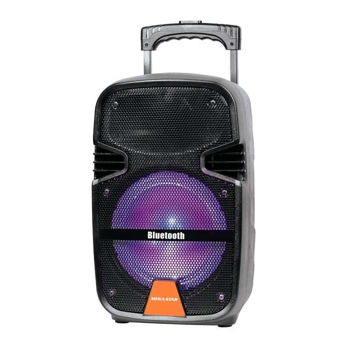 Parlante karaoke a batería 8 pulgadas Mega Star SPA088 - 0