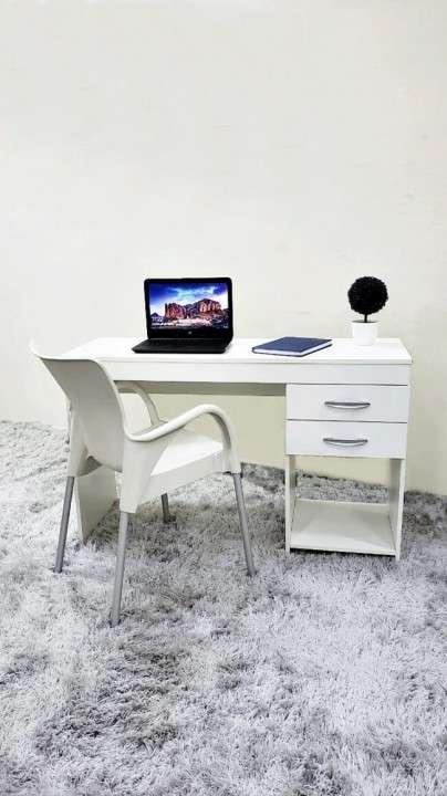 Escritorio para oficina blanco 120 cm (2623) - 0